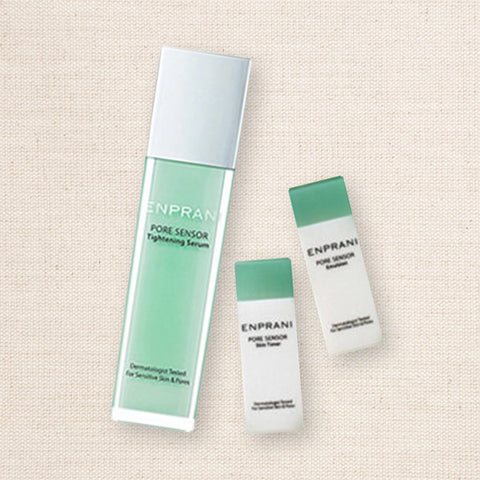 (Enprani) Pore Sensor Skin Toner & Emulsion & Tightening Serum Set / Combination