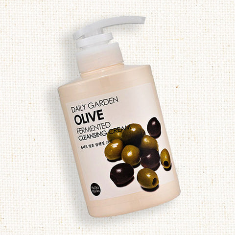 (Holika Holika) Daily Garden Olive Fermented Cleansing Cream