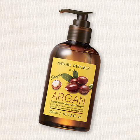 (Nature Republic) Argan Essential Deep Care Shampoo