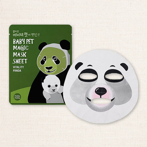 (Holika Holika) Baby Pet Magic Mask Sheet Vitality Panda