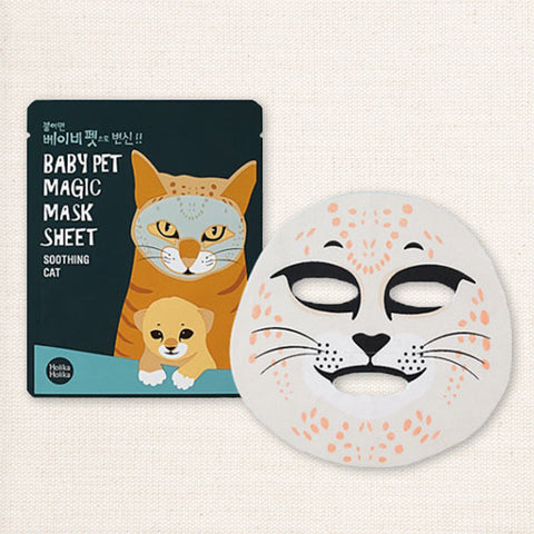 (Holika Holika) Baby Pet Magic Mask Sheet Soothing Cat