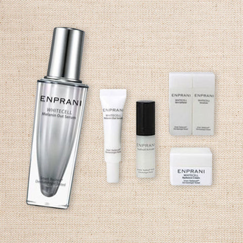 (Enprani) Whitecell Melanin Out Serum Set