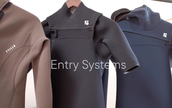 A Quick Guide to Wetsuit Entry Systems
