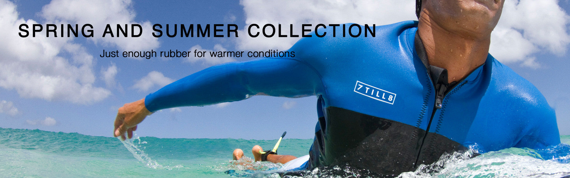Spring collection custom wetsuits