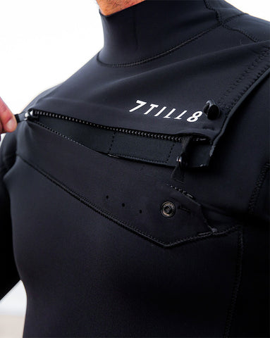 2ae086e88a How to Put on a Wetsuit (Slant Zip, Chest Zip, and Back Zip ...