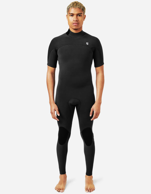 Custom Mens Surf Short Sleeve Fullsuit