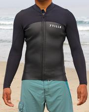 Surf Moto Front Zip Jacket - 7TILL8 Wetsuits