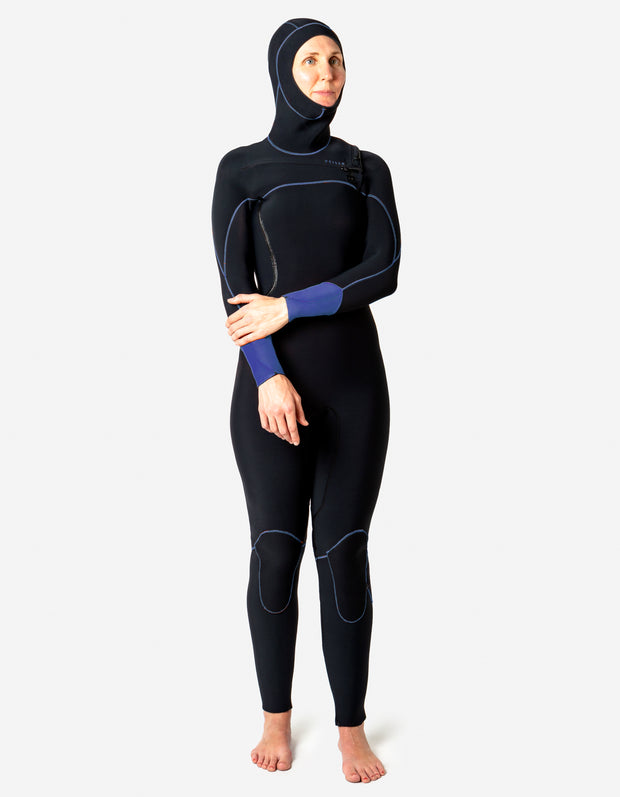 Custom Womens Dive Hooded Fullsuit