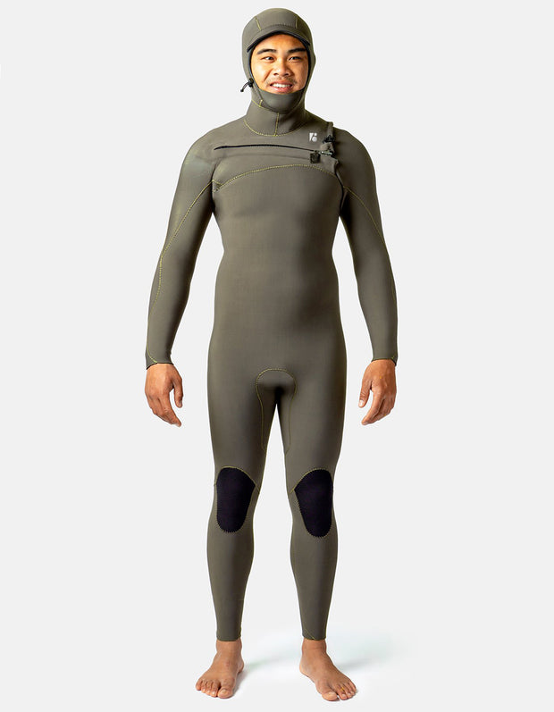 Custom Mens Surf Hooded Fullsuit