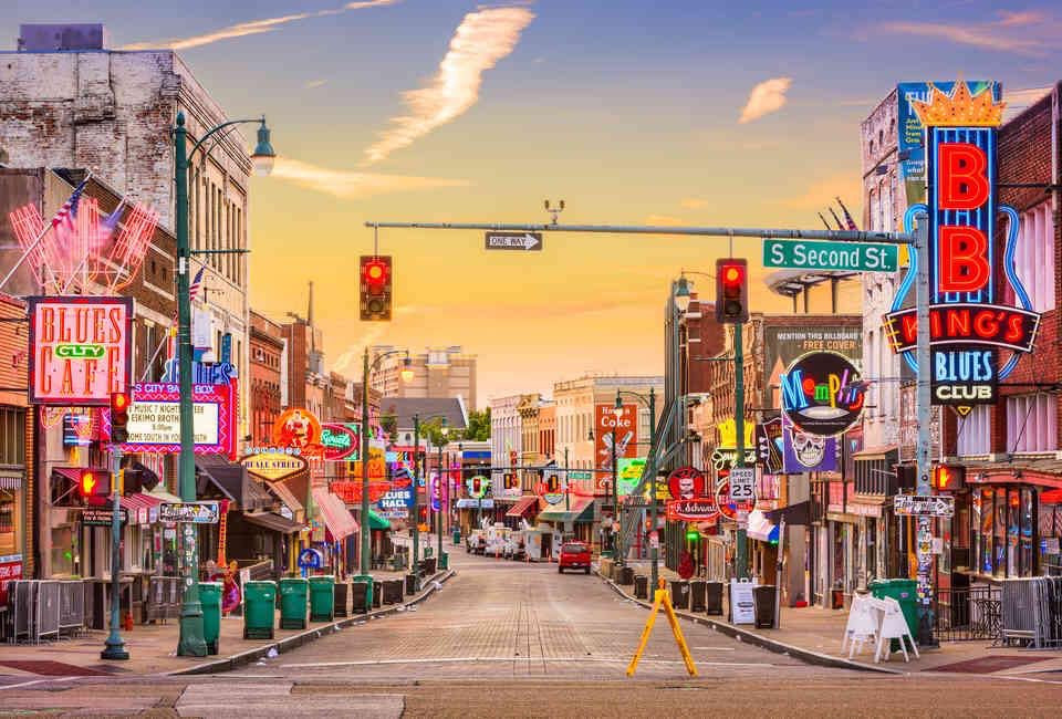 Memphis, Tennessee Is on of the Top 25 Coolest Places to Visit