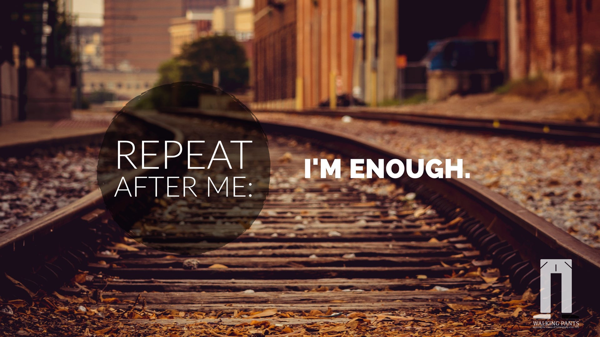 Repeat After Me: I am Enough. God Says So.