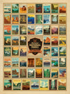 Buy Celebrate America's 59 National Parks, 500 Piece Jigsaw Puzzle, a Puzzle from Walking Pants Curiosities, the Best Gift Shop Store in Memphis, Tennessee!