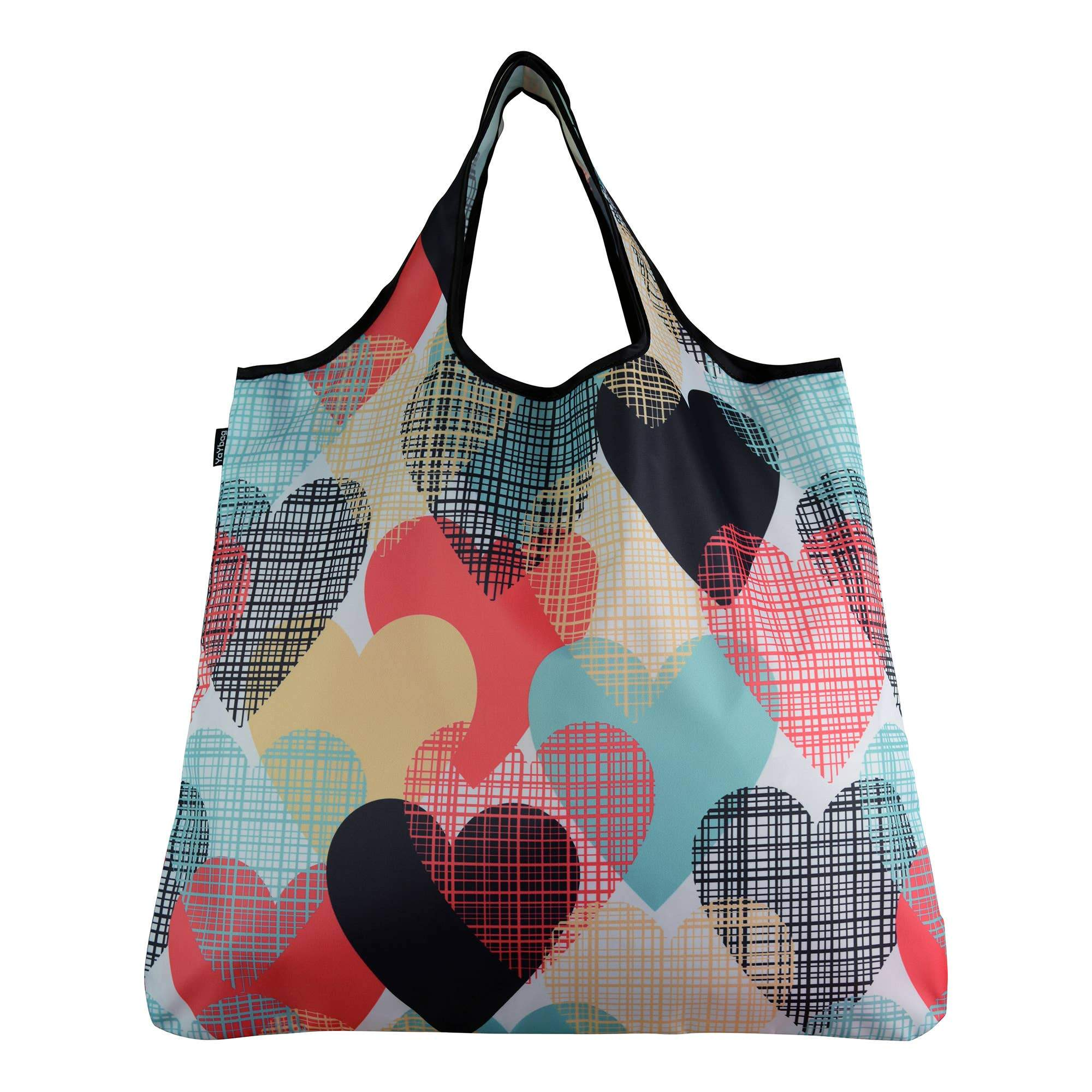 Buy Flush of Hearts YaYbag ORIGINAL Reusable Bag from Walking Pants Curiosities, the Most un-General Gift Store in Downtown Memphis, Tennessee!