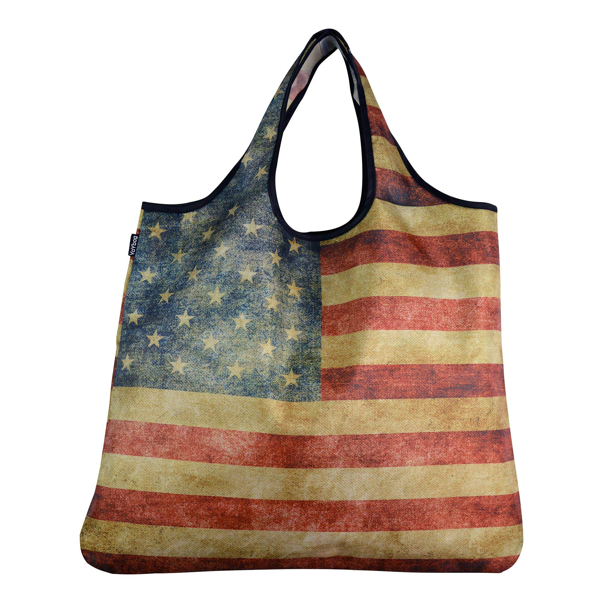 Buy YaYbag ORIGINAL - Retro American Flag from Walking Pants Curiosities, the Most un-General Gift Store in Downtown Memphis, Tennessee!