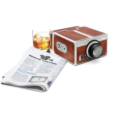 Buy Luckies of London - Smartphone Projector 2.0 Brown Edition from Walking Pants Curiosities, the Most un-General Gift Store in Downtown Memphis, Tennessee!