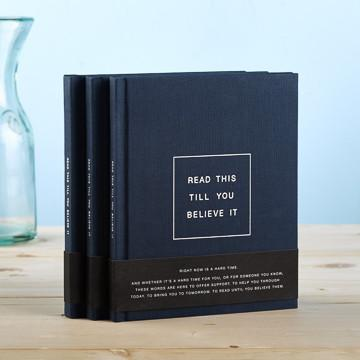 Buy Read This Till You Believe It, A Hardcover Gift Book from Walking Pants Curiosities, the Most un-General Gift Store in Downtown Memphis, Tennessee!