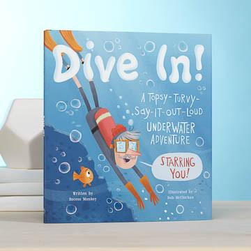 Buy Dive In, A Children's Book, a Book from Walking Pants Curiosities, the Best Gift Store in Downtown Memphis, Tennessee!