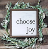 Buy Choose Joy - Framed Wood Sign from Walking Pants Curiosities, the Most un-General Gift Store in Downtown Memphis, Tennessee!