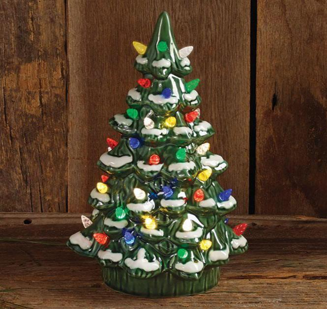 Buy Fantastic Lighted Retro Christmas Tree from Walking Pants Curiosities, the Most un-General Gift Store in Downtown Memphis, Tennessee!