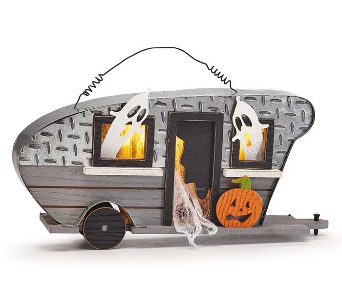 Buy Halloween Camper with LED Light from Walking Pants Curiosities, the Most un-General Gift Store in Downtown Memphis, Tennessee!