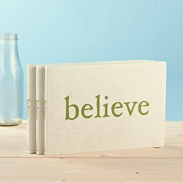 Buy Believe, An Inspirational Gift Book from Walking Pants Curiosities, the Most un-General Gift Store in Downtown Memphis, Tennessee!