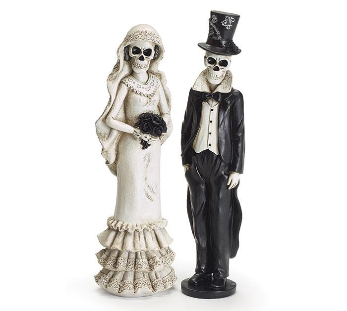Buy Day of the Dead Bride and Groom Figurine from Walking Pants Curiosities, the Most un-General Gift Store in Downtown Memphis, Tennessee!
