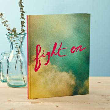 Buy Fight On, An Encouraging Hardcover Gift Book from Walking Pants Curiosities, the Most un-General Gift Store in Downtown Memphis, Tennessee!