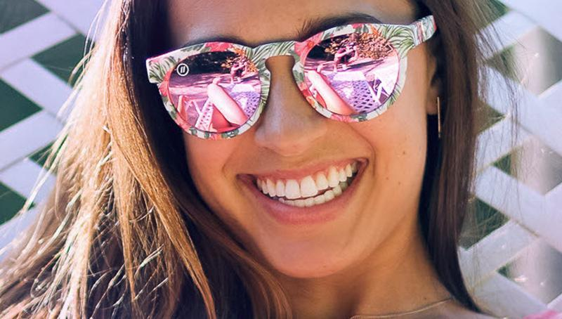 a90d55c4f87d7 Buy BLENDERS East Village Flower Punch in Rose Pink Sunglasses from Walking  Pants Curiosities
