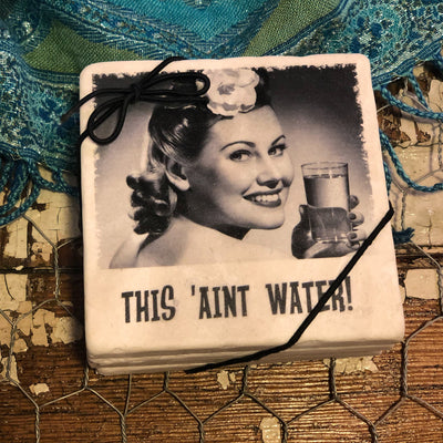 Buy Retro Drunk Gals - SET OF 4 COASTERS from Walking Pants Curiosities, the Most un-General Gift Store in Downtown Memphis, Tennessee!