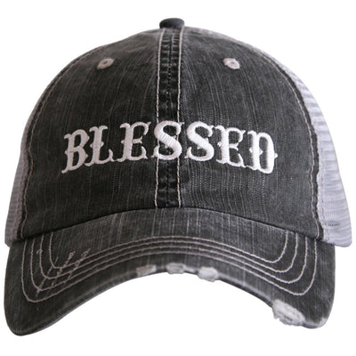 Buy Blessed Women's Trucker Hat from Walking Pants Curiosities, the Most un-General Gift Store in Downtown Memphis, Tennessee!