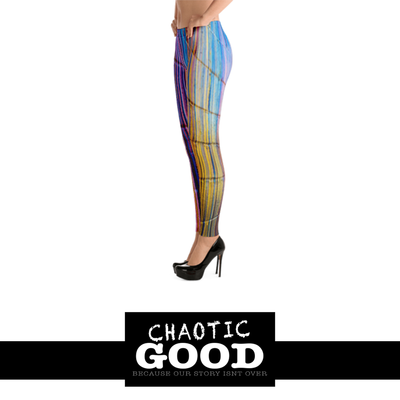 Rainbow Brite, Art Walk Fun and Sassy Leggings