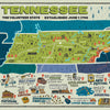 Buy Tennessee Landmark Map, 500 Piece Jigsaw Puzzle from Walking Pants Curiosities, the Most un-General Gift Store in Downtown Memphis, Tennessee!