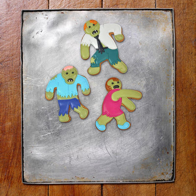 Buy Undead Fred Zombie Cookie Cutter from Walking Pants Curiosities, the Most un-General Gift Store in Downtown Memphis, Tennessee!