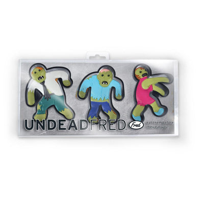 Buy Undead Fred Zombie Cookie Cutter, a For The Kitchen from Walking Pants Curiosities, the Best Gift Shop Store in Memphis, Tennessee!