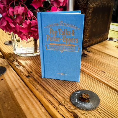 Buy Pep Talks and Picker-Uppers for All Occasions Gift Book, a Book from Walking Pants Curiosities, the Best Gift Shop Store in Memphis, Tennessee!