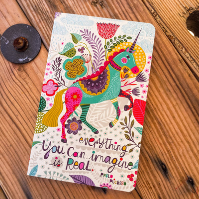 Buy Everything You Can Imagine Is Real, a Write Now Journal, a Book from Walking Pants Curiosities, the Best Gift Store in Downtown Memphis, Tennessee!