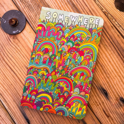 Buy Somewhere, a Write Now Journal, a Book from Walking Pants Curiosities, the Best Gift Shop Store in Memphis, Tennessee!