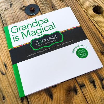 Buy Grandpa is Magical, a Storylines Gift Book, a Book from Walking Pants Curiosities, the Best Gift Store in Downtown Memphis, Tennessee!