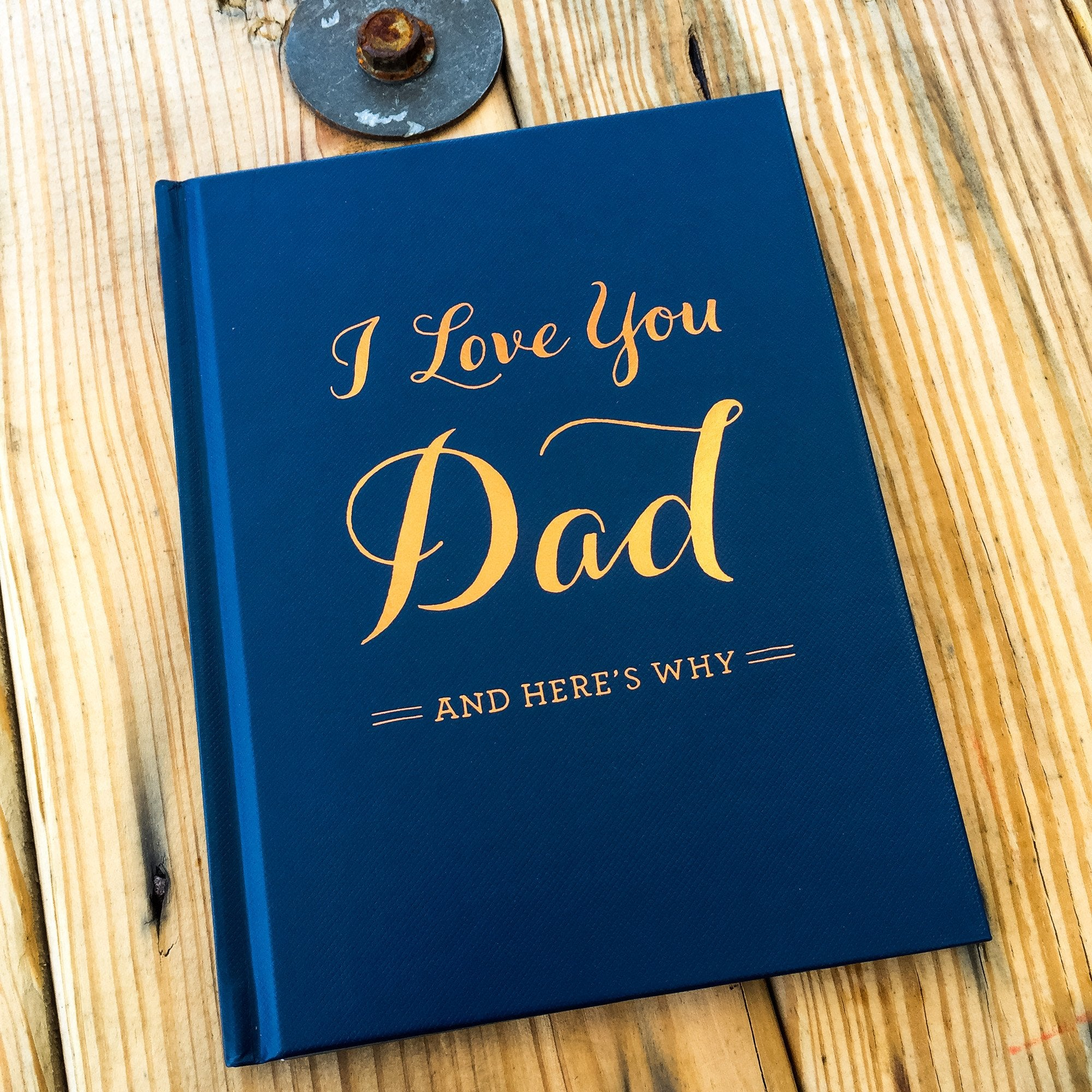 Buy I Love You, Dad Gift Book from Walking Pants Curiosities, the Most un-General Gift Store in Downtown Memphis, Tennessee!