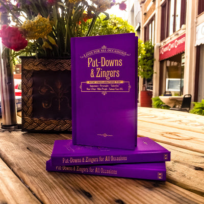 Buy Put-Downs and Zingers for All Occasions, a Book from Walking Pants Curiosities, the Best Gift Shop Store in Memphis, Tennessee!