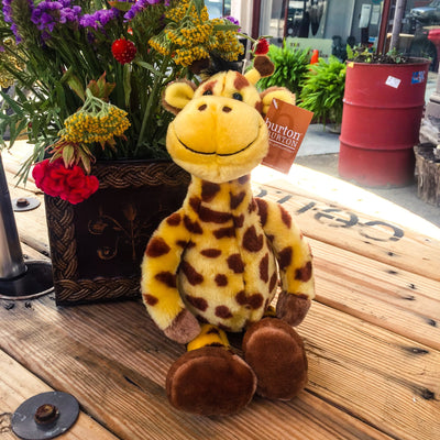 "Buy 16"" Plush Gerri Giraffe Stuffed Toy Animal from Walking Pants Curiosities, the Most un-General Gift Store in Downtown Memphis, Tennessee!"
