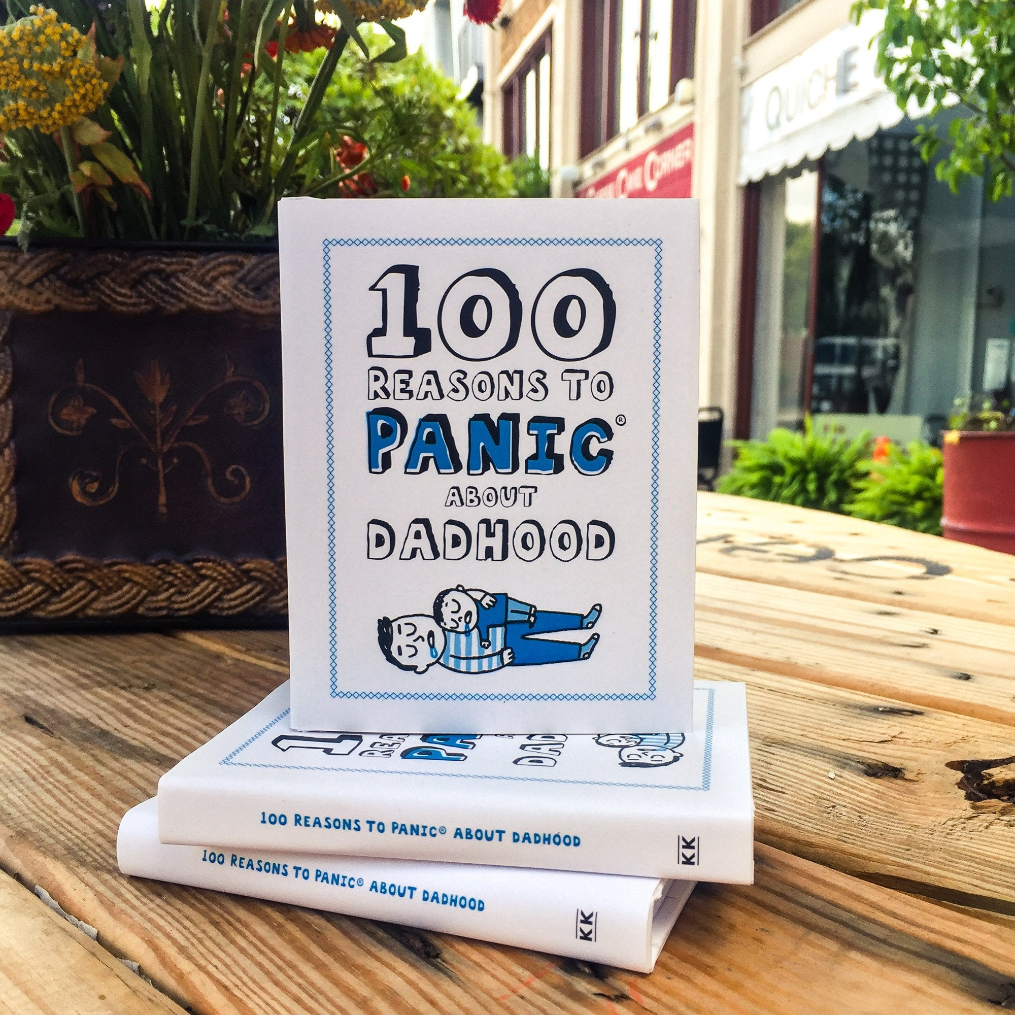 Buy 100 Reasons To Panic About Dadhood from Walking Pants Curiosities, the Most un-General Gift Store in Downtown Memphis, Tennessee!