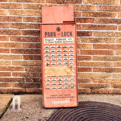 Buy Authentic 1960's Pay To Park Parking Meter from Walking Pants Curiosities, the Most un-General Gift Store in Downtown Memphis, Tennessee!