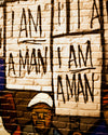 Buy I Am Man, Portrait from Walking Pants Curiosities, the Most un-General Gift Store in Downtown Memphis, Tennessee!