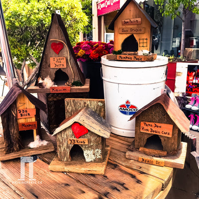 Buy Papa Don Rum-Boogie Cafe Wren Birdhouse from Walking Pants Curiosities, the Most un-General Gift Store in Downtown Memphis, Tennessee!