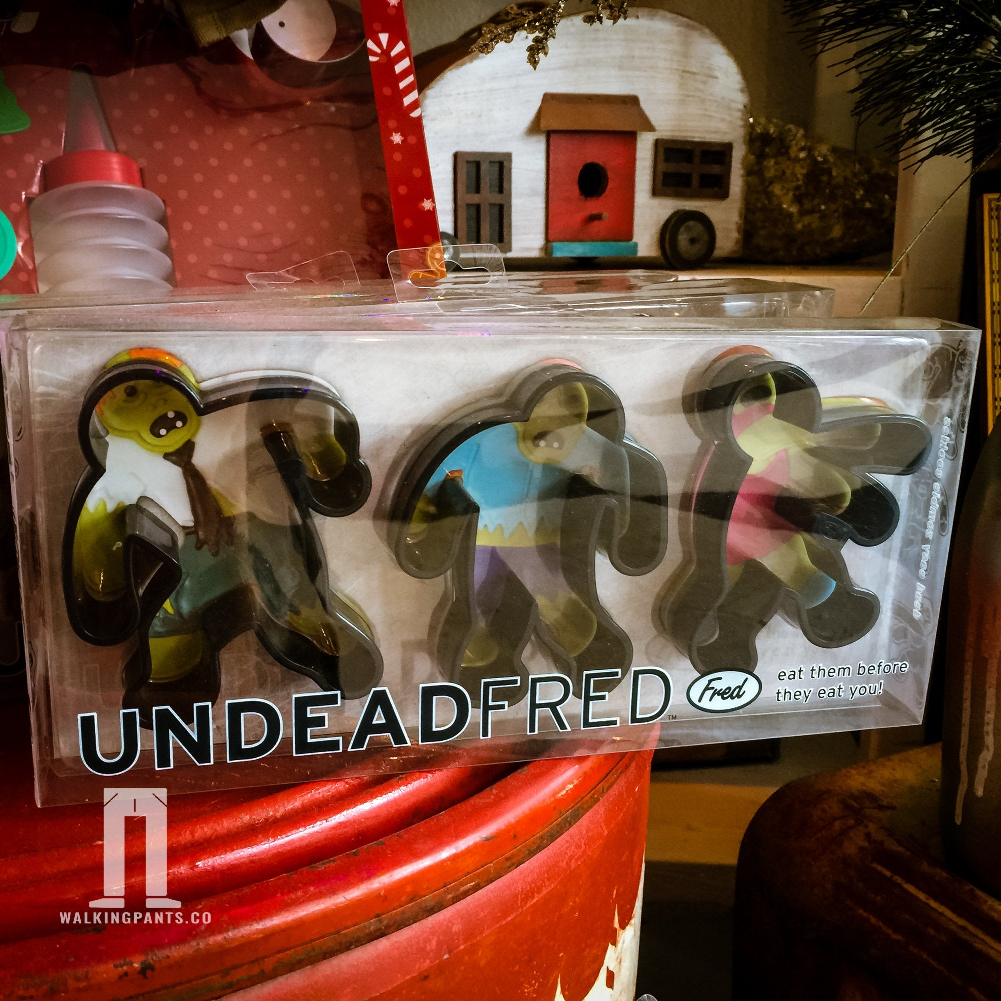 Undead Fred Zombie Cookie Cutter - Walking Pants Curiosities
