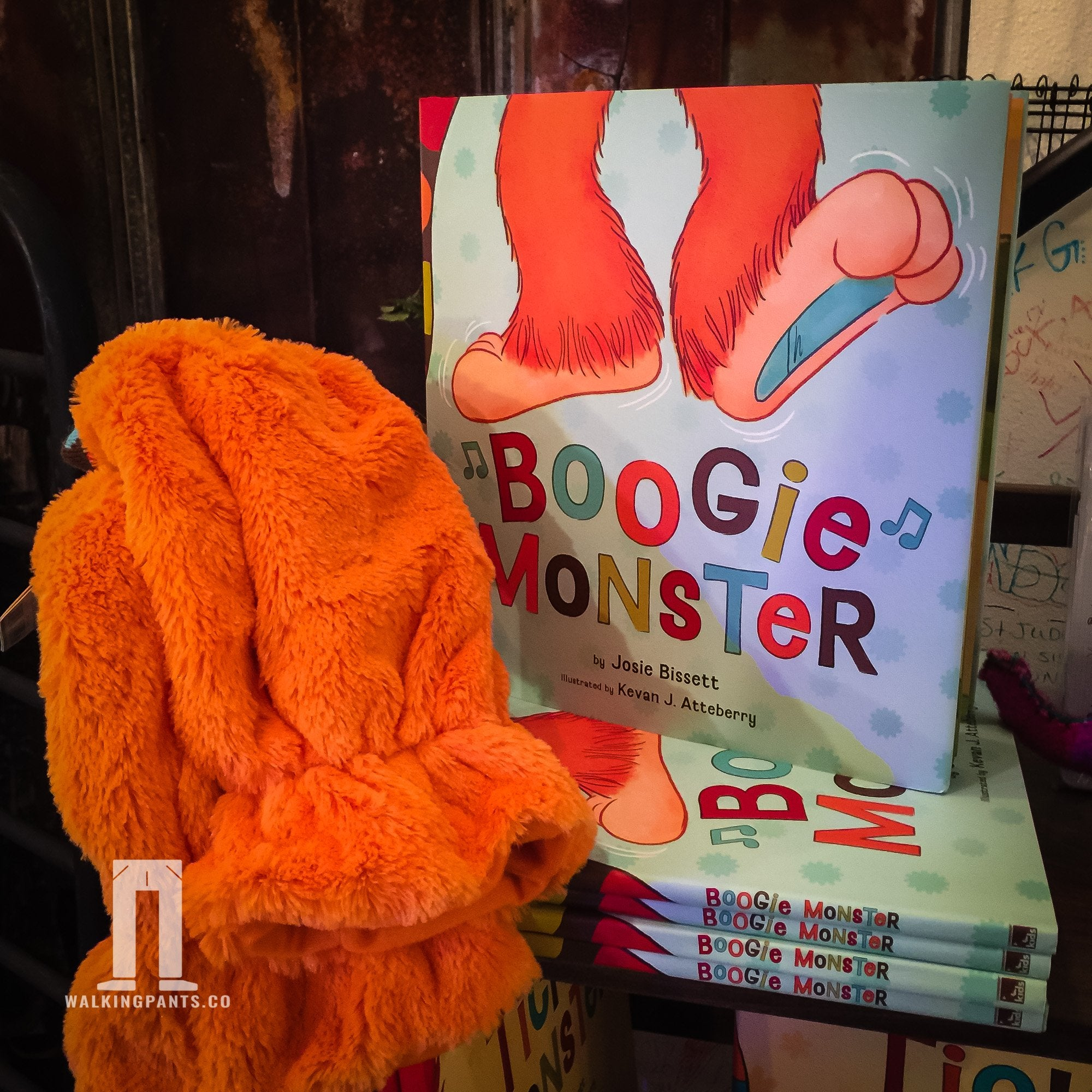 Buy Boogie Monster Book Gift Book from Walking Pants Curiosities, the Most un-General Gift Store in Downtown Memphis, Tennessee!