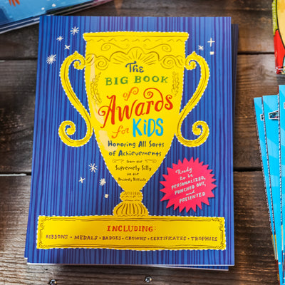 Buy The Big Book of Awards for Kids from Walking Pants Curiosities, the Most un-General Gift Store in Downtown Memphis, Tennessee!
