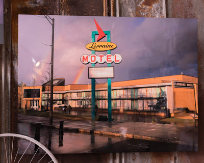 Buy Hold Fast. Your Overcoming, Comes: A Lorraine Motel Double Rainbow, a Prints from Walking Pants Curiosities, the Best Gift Store in Downtown Memphis, Tennessee!