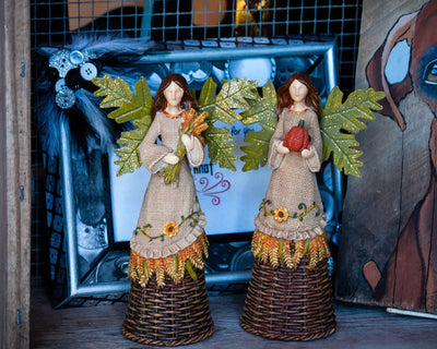 Buy Fall Harvest Angels, Thanksgiving from Walking Pants Curiosities, the Most un-General Gift Store in Downtown Memphis, Tennessee!